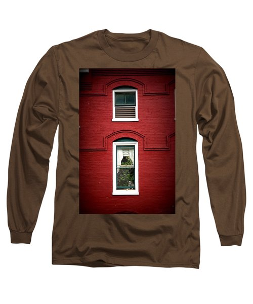 Doggie In The Window Long Sleeve T-Shirt
