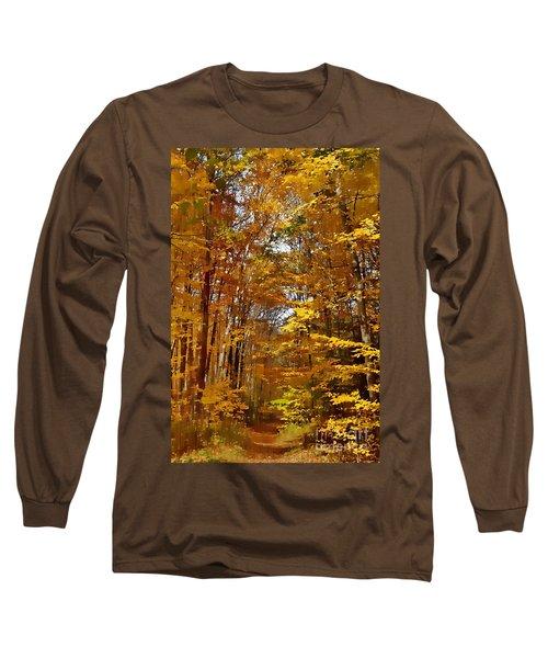 Golden Autumn Long Sleeve T-Shirt