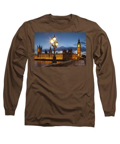 House Of Parliament Long Sleeve T-Shirt