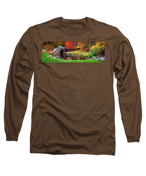 Mabry Mill Pano Long Sleeve T-Shirt