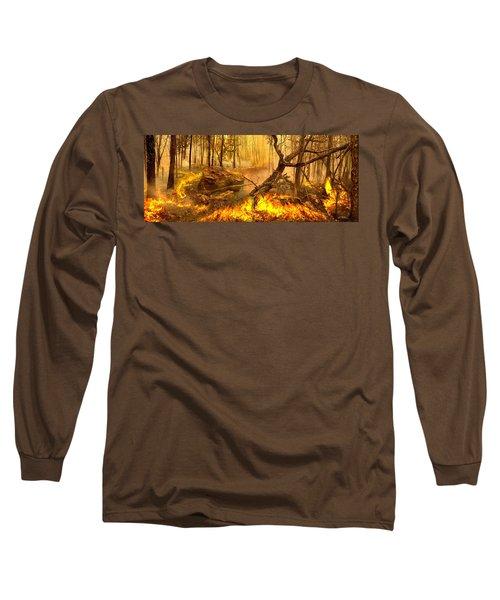 2 Peter 3 10 Long Sleeve T-Shirt by Bill Stephens