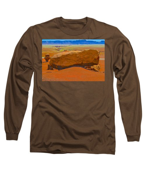 Rock Orange Long Sleeve T-Shirt