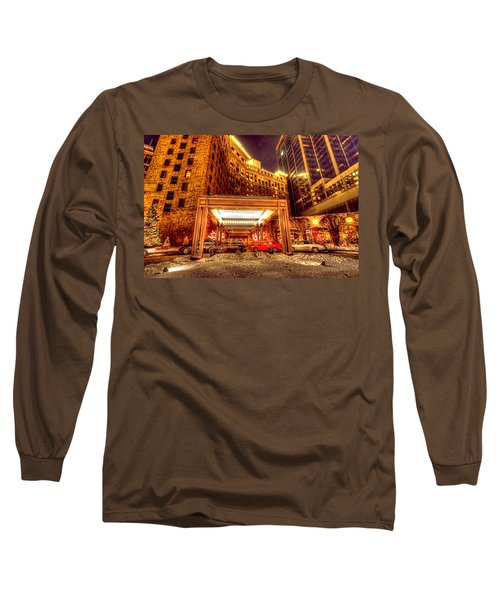 Saint Paul Hotel Long Sleeve T-Shirt by Amanda Stadther