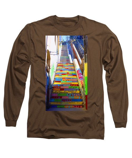 Stairway To Heaven Valparaiso  Chile Long Sleeve T-Shirt