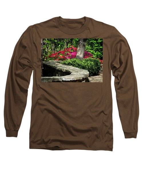 Long Sleeve T-Shirt featuring the photograph Stay On The Path by Nava Thompson