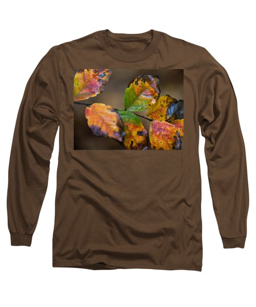 Long Sleeve T-Shirt featuring the photograph Turning Leaves by Stephen Anderson