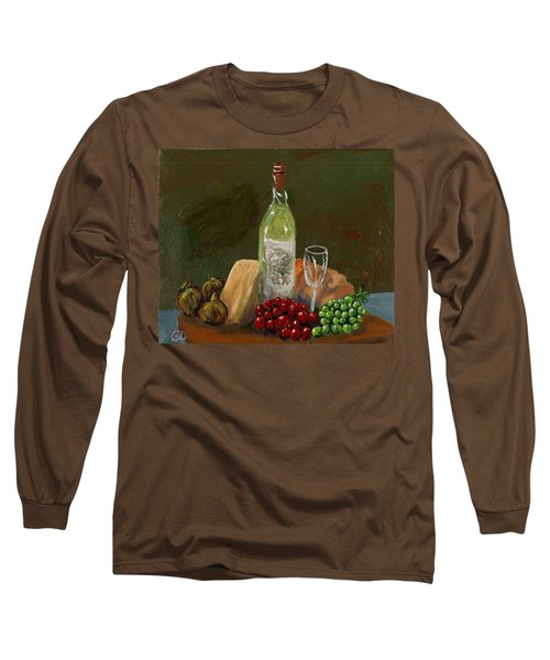 White Wine Long Sleeve T-Shirt