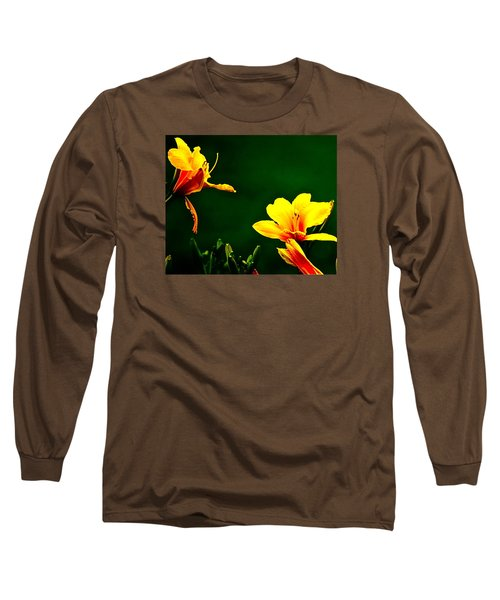 Talking Flower Heads Long Sleeve T-Shirt