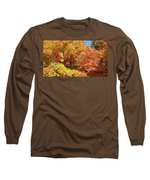 Fall Explosion Of Color Long Sleeve T-Shirt