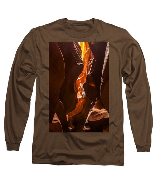 Long Sleeve T-Shirt featuring the photograph Antelope Slot Canyon by Andrew Soundarajan
