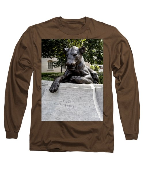 At The National Law Enforcement Officers Memorial In Washington Dc Long Sleeve T-Shirt