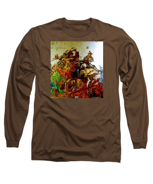 Battle Of Grunwald Long Sleeve T-Shirt by Henryk Gorecki