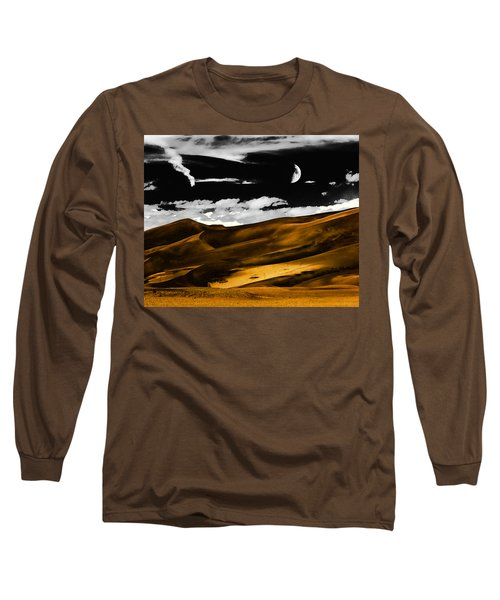 Night At The Great Sand Dunes Long Sleeve T-Shirt