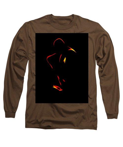 Sax In The Dark Long Sleeve T-Shirt