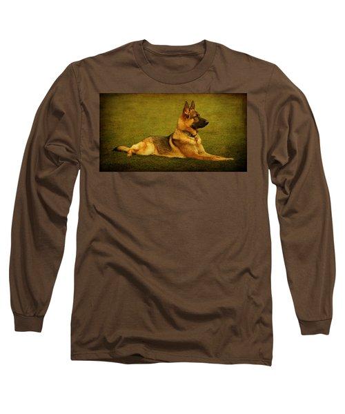 Watching Long Sleeve T-Shirt