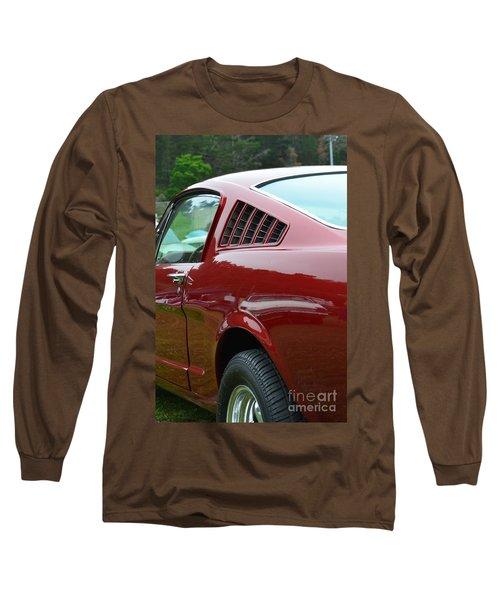 Classic Mustang Long Sleeve T-Shirt by Dean Ferreira