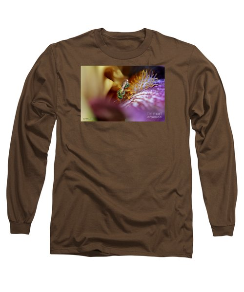 Tall Bearded Iris Named Final Episode Long Sleeve T-Shirt