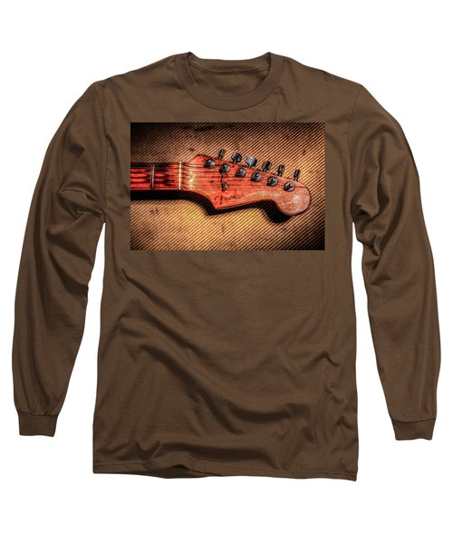 Long Sleeve T-Shirt featuring the photograph '56 Stratocaster by Ray Congrove
