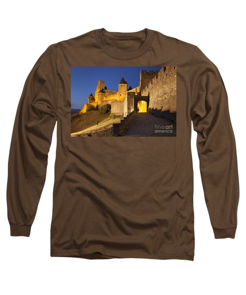 Medieval Carcassonne Long Sleeve T-Shirt