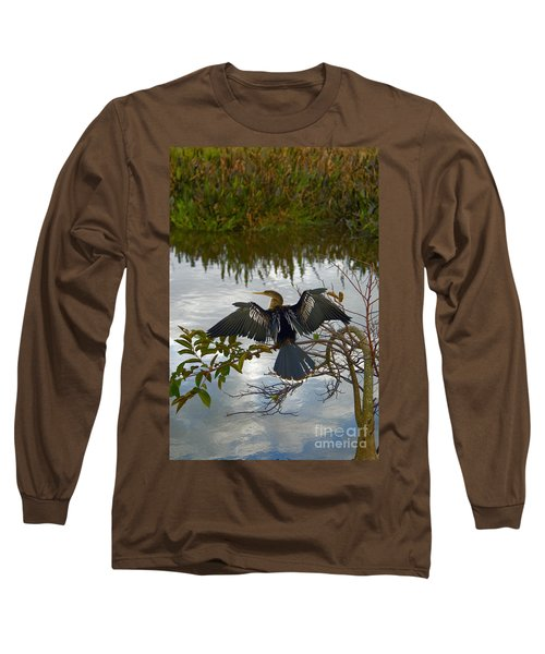 Anhinga Long Sleeve T-Shirt