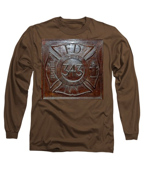 9 11 01 F D N Y 343 Long Sleeve T-Shirt