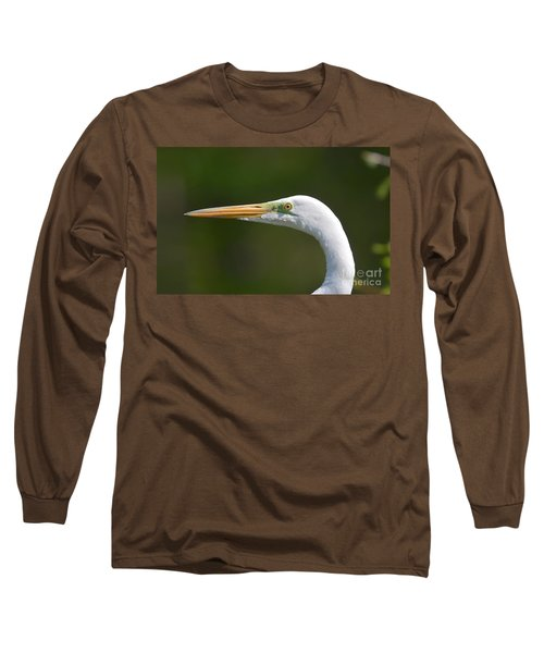 Long Sleeve T-Shirt featuring the photograph A Beautiful Face by Kathy Baccari