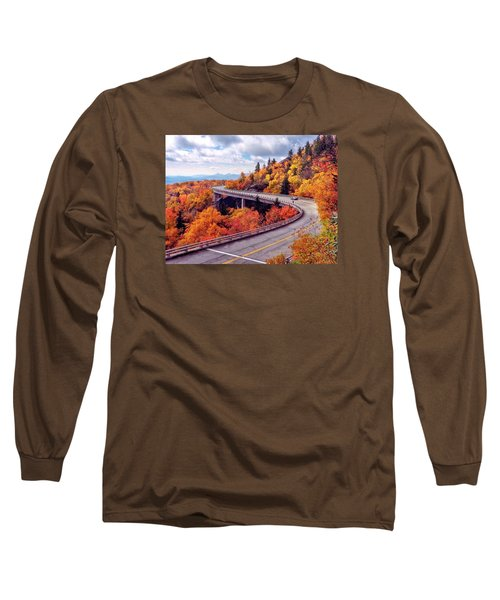 A Colorful Ride Along The Blue Ridge Parkway Long Sleeve T-Shirt