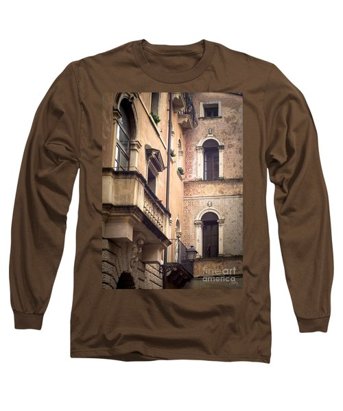 A Corner Of Vicenza Italy Long Sleeve T-Shirt