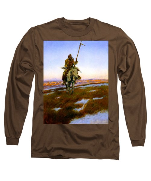 A Cree Indian Long Sleeve T-Shirt