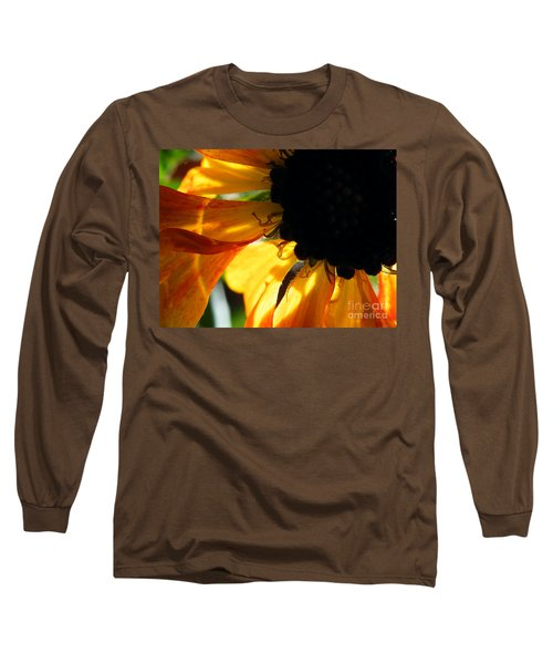 Long Sleeve T-Shirt featuring the photograph A Dark Sun by Brian Boyle