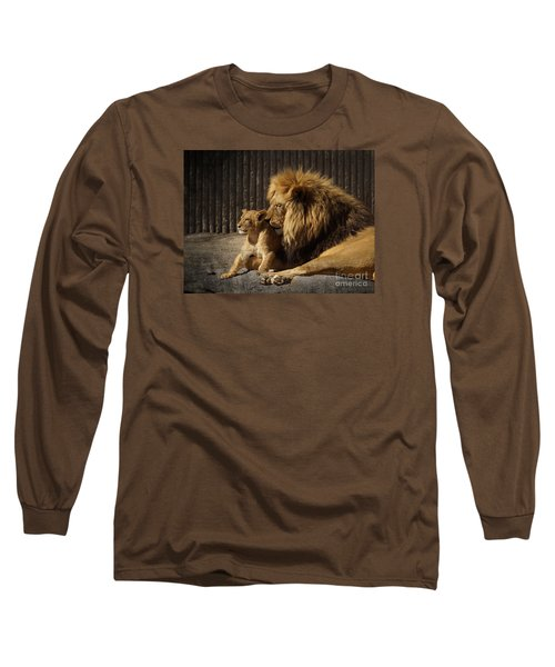 Long Sleeve T-Shirt featuring the photograph A Father's Love by Inge Riis McDonald