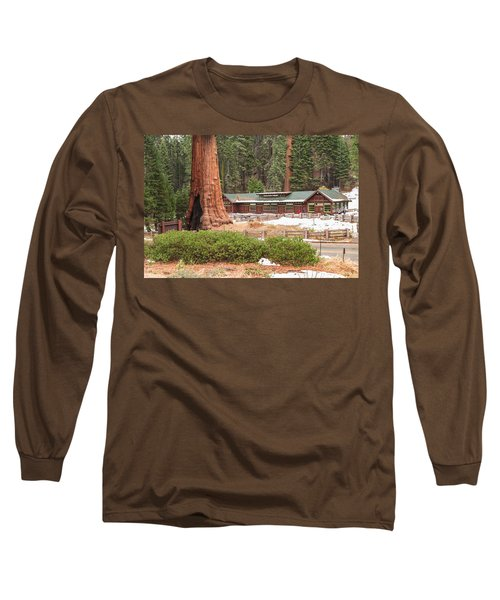 A Giant Among Trees Long Sleeve T-Shirt