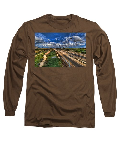 Long Sleeve T-Shirt featuring the photograph a majestic springtime in Israel by Ron Shoshani