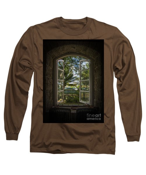 A Paradise Awaits Long Sleeve T-Shirt