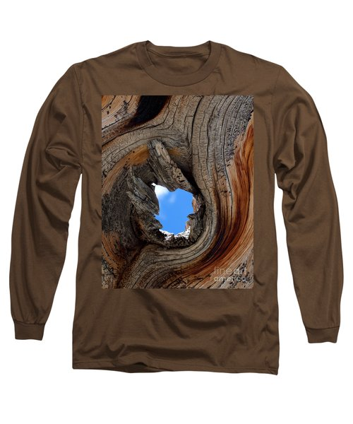 A Patch Of Blue Long Sleeve T-Shirt by Jim Garrison