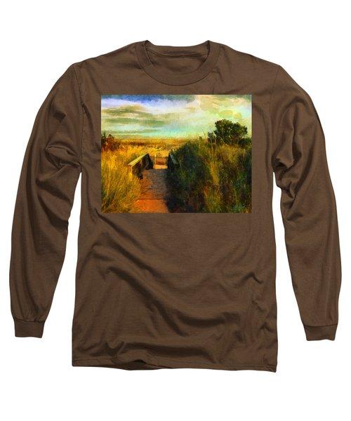 A Path To The Beach Long Sleeve T-Shirt