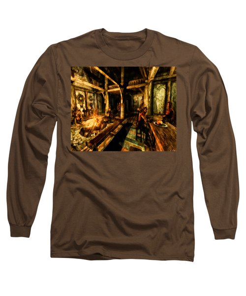 A Place To Relax Long Sleeve T-Shirt by Joe Misrasi