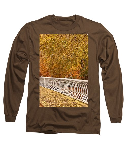 A Quiet Day On The Riverwalk Long Sleeve T-Shirt