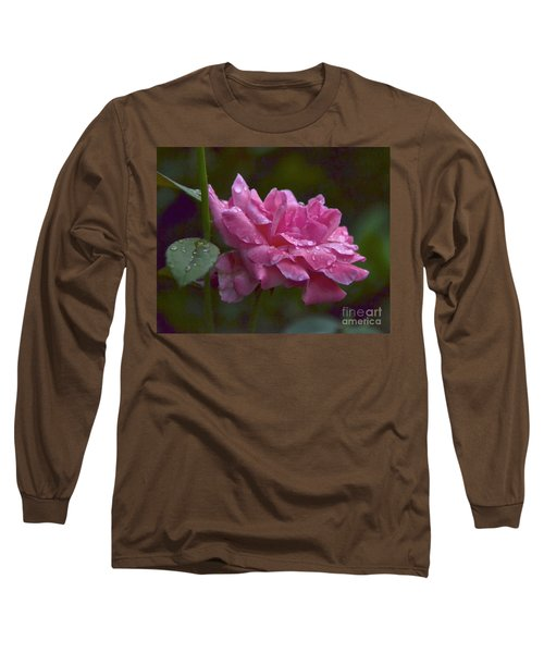 Long Sleeve T-Shirt featuring the photograph A Rose Is A Rose by Carol  Bradley