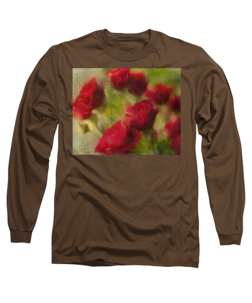 A Shower Of Roses Long Sleeve T-Shirt