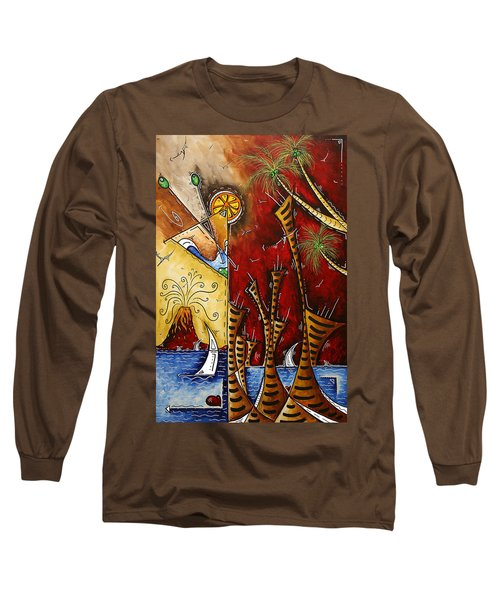 A Slice Of Paradise By Madart Long Sleeve T-Shirt