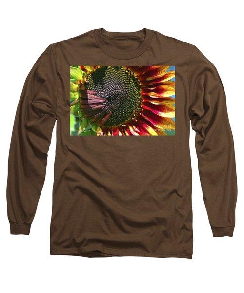 A Sunflower For The Birds Long Sleeve T-Shirt
