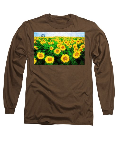 A Sunny Day With Vincent Long Sleeve T-Shirt