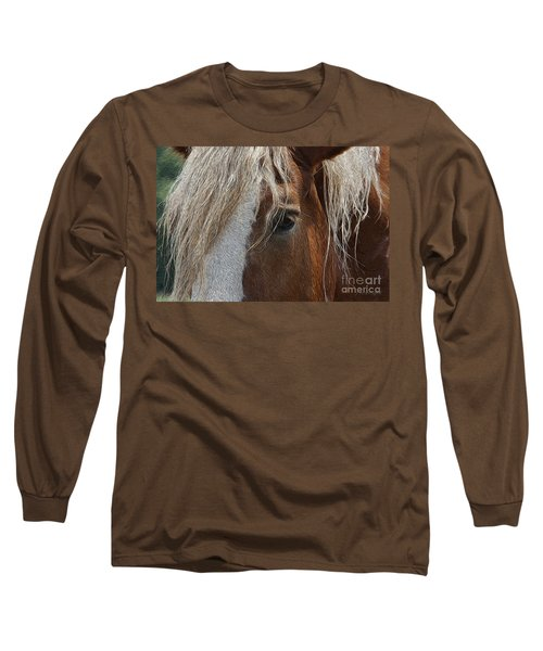 A Trusted Friend Long Sleeve T-Shirt by Yvonne Wright
