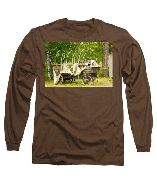 A Wagon Long Sleeve T-Shirt