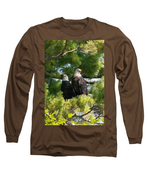 A Watchful Pair Long Sleeve T-Shirt