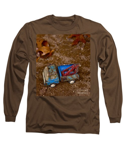 Abandoned Truck Long Sleeve T-Shirt by Xn Tyler