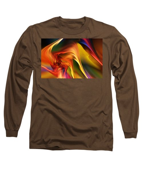 Abstract 031814 Long Sleeve T-Shirt