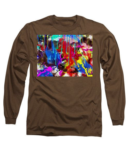 Abstract 6832 Long Sleeve T-Shirt
