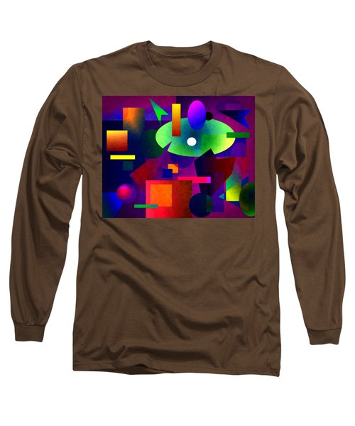 Abstract 74 Long Sleeve T-Shirt